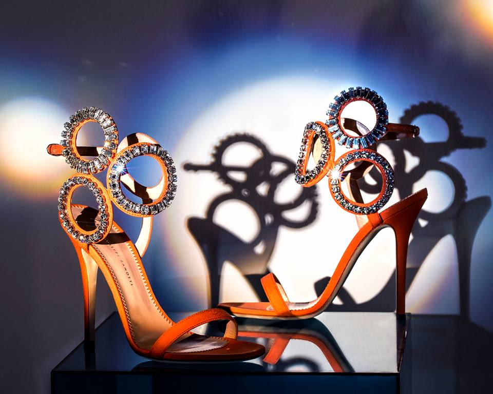 Sandali gioiello colorati Giuseppe Zanotti