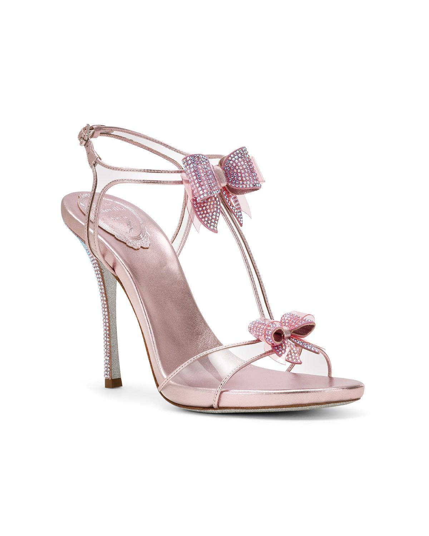 Sandali gioiello con fiocchi a 810 euro