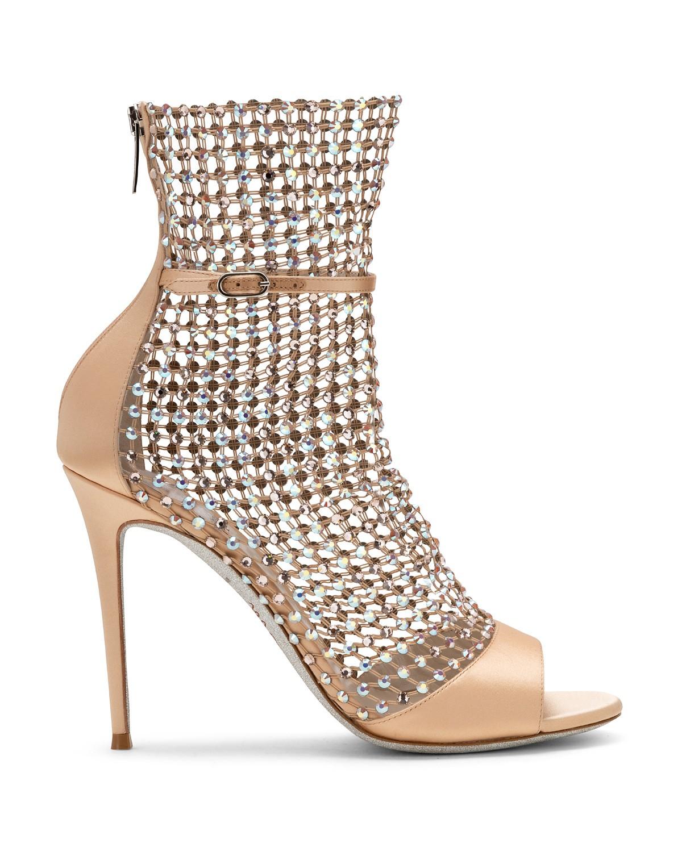 Sandali gioiello effetto rete a 1215 euro