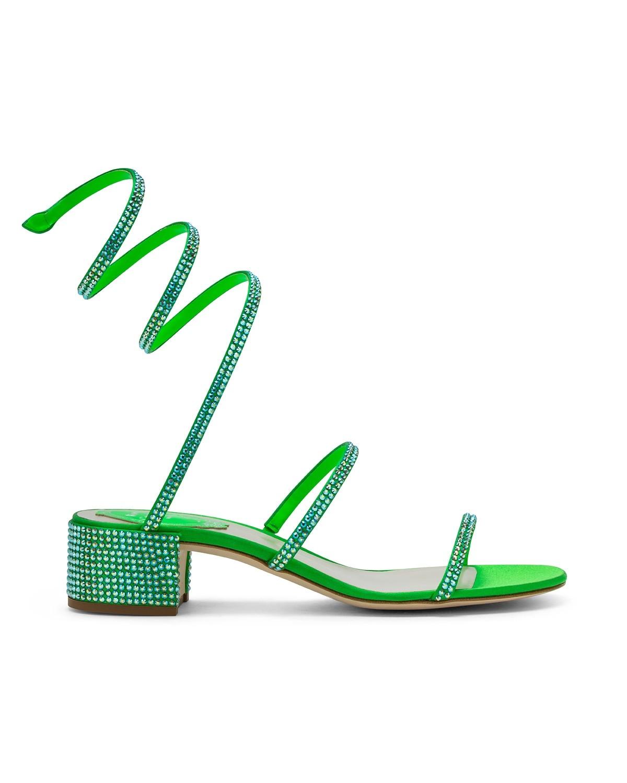 Sandali verde fluo a 1055 euro