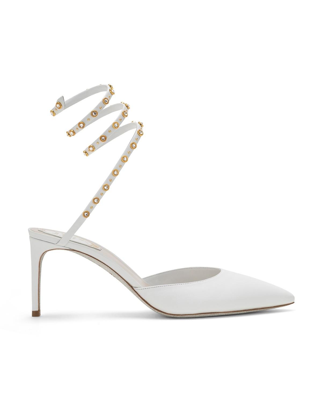 Scarpe a punta con borchie Renè Caovilla al prezzo di 810 euro