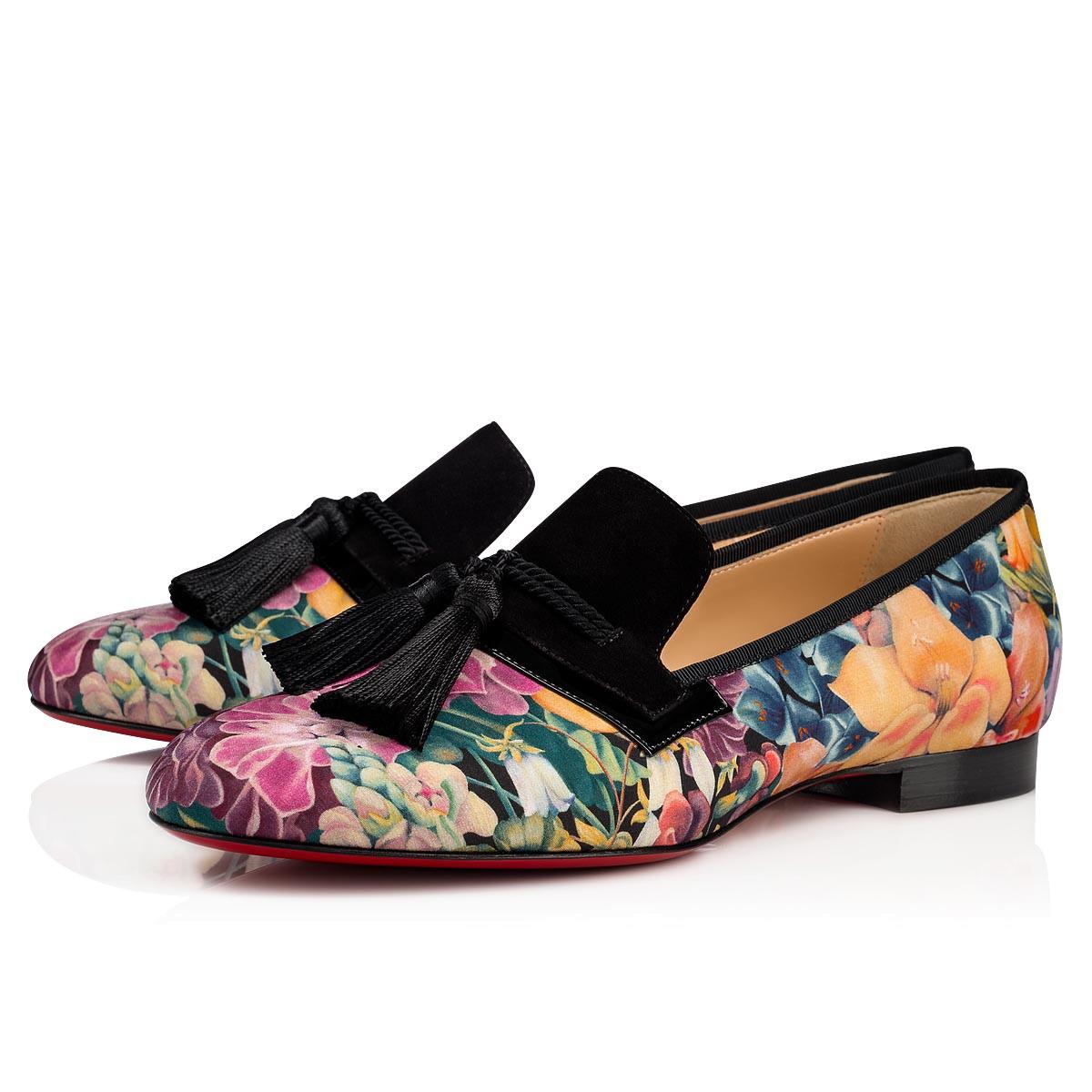 Scarpe basse a fiori Christian Louboutin a 645 euro