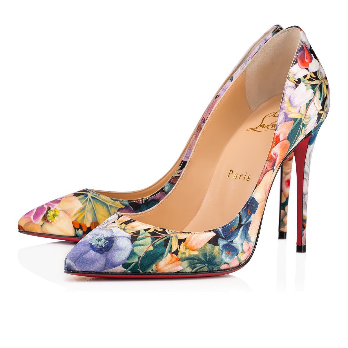 Scarpe eleganti a fiori Christian Louboutin
