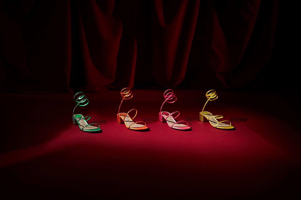 Scarpe Renè Caovilla Primavera/Estate 2019: dai sandali gioiello alle sneakers di tendenza