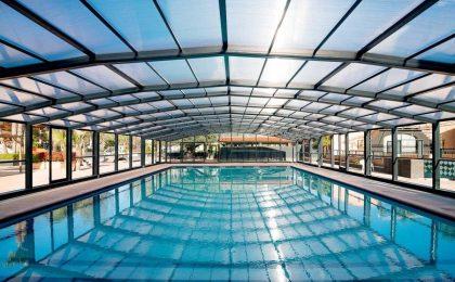 Come utilizzare la piscina tutto l'anno grazie alle coperture per piscine