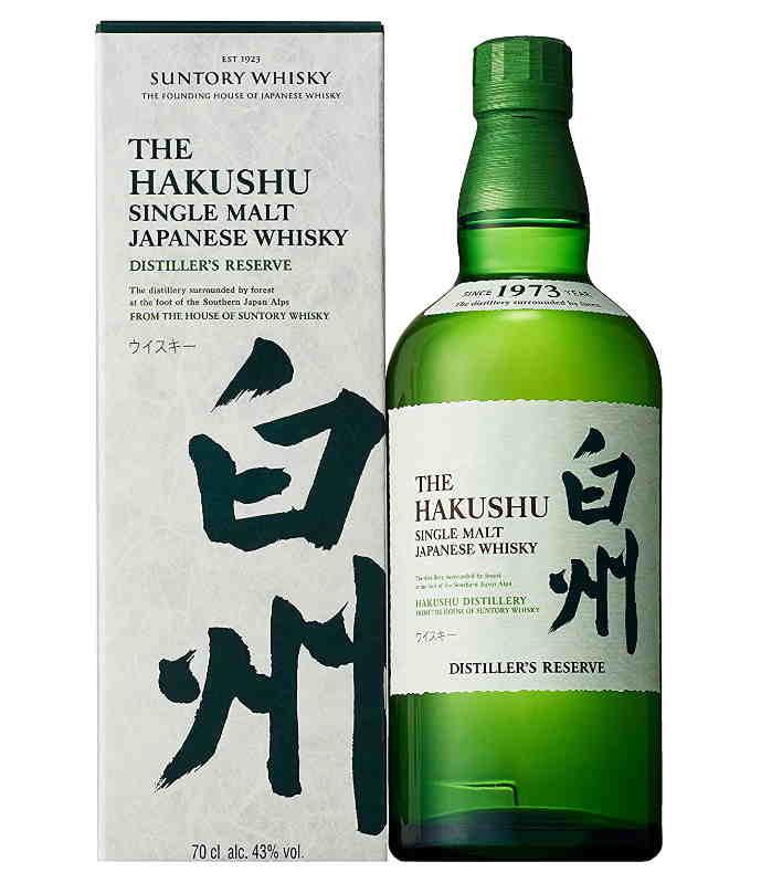 Whisky giapponesi migliori hakushu