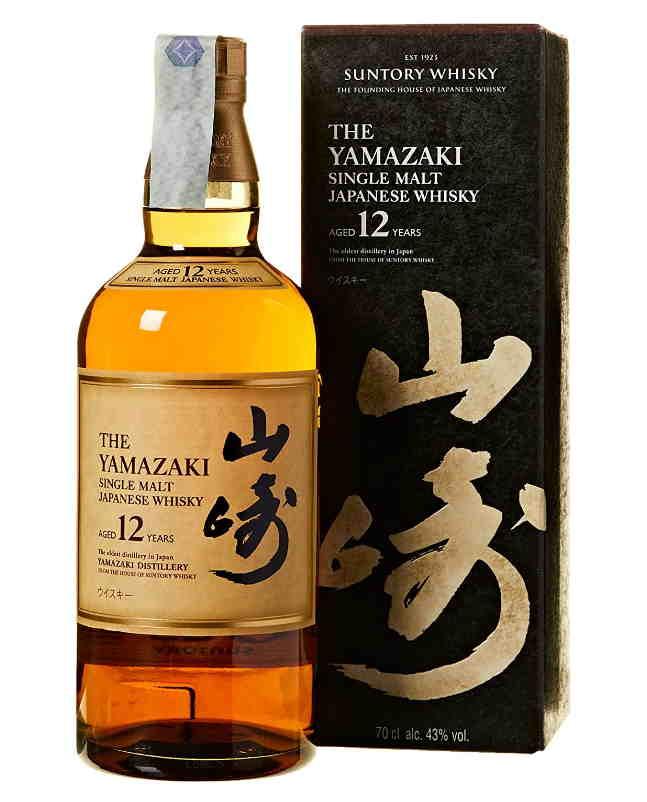 Whisky giapponesi migliori yamazaki 12 anni