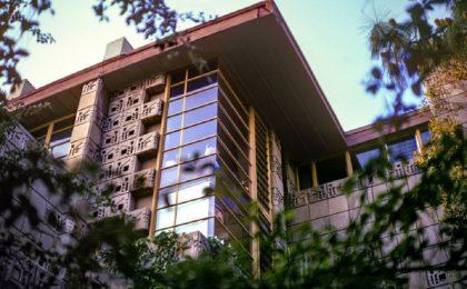 Freeman House: in vendita la casa losangelina progettata da Frank Lloyd Wright