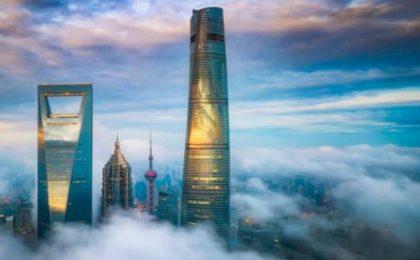 L'hotel di lusso più alto al mondo si trova a Shangai
