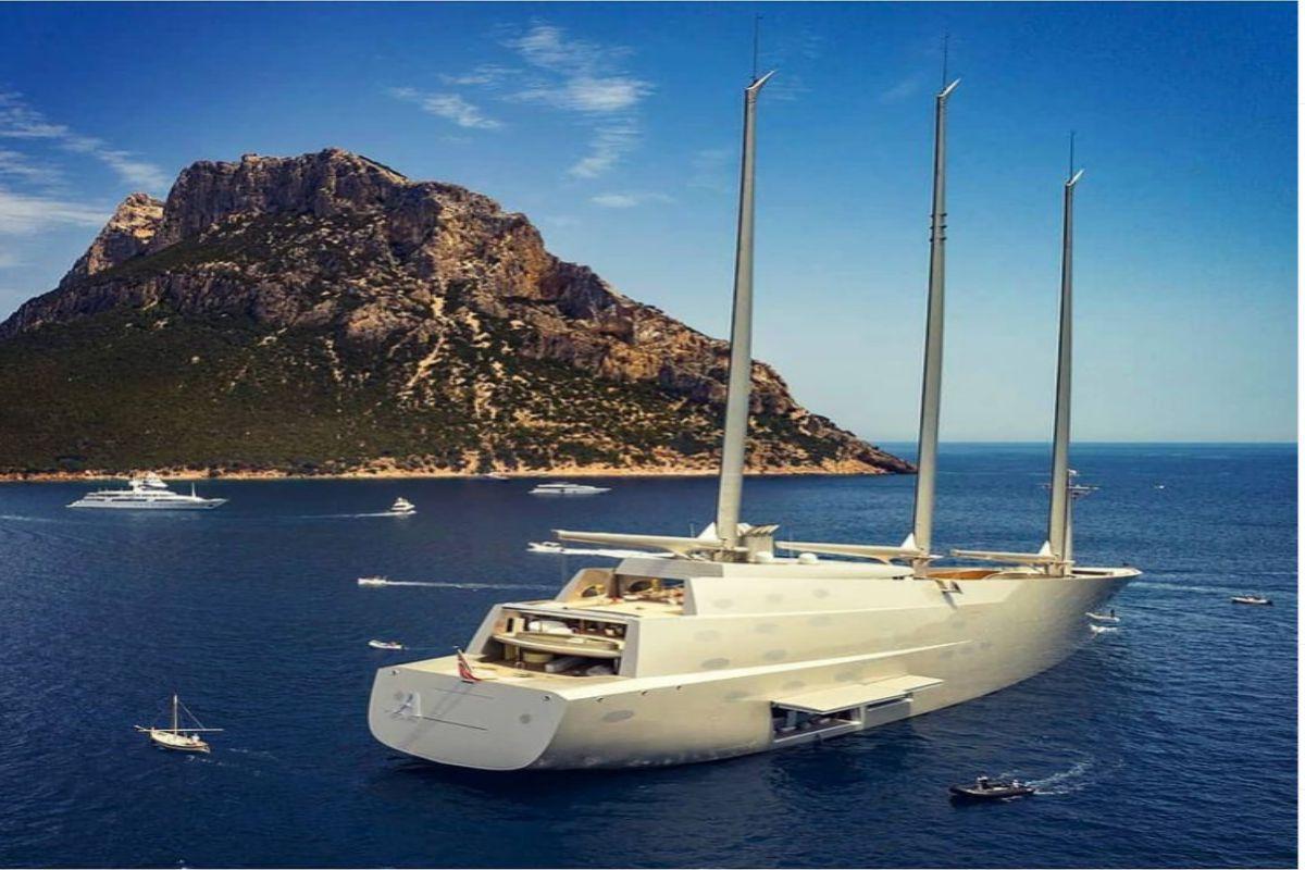 Sailing Yacht A, lo yacht a vela più grande e lussuoso al mondo