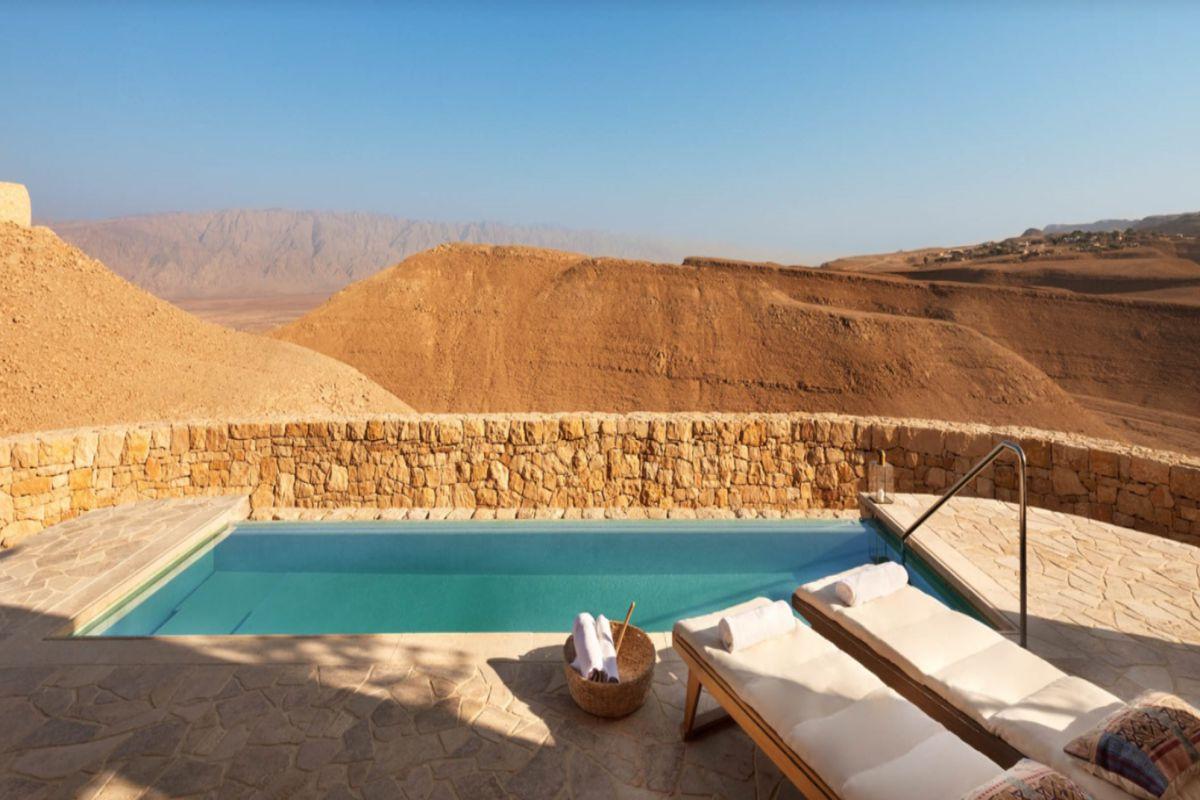 Six Senses Shaharut, il nuovo resort di lusso nel cuore del deserto