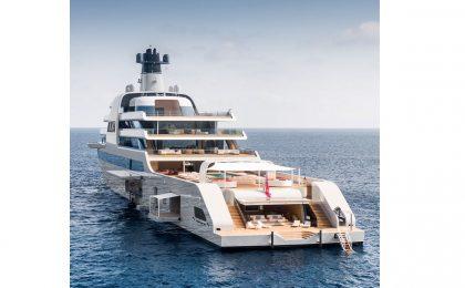Solaris, il super yacht da 500 milioni di Abramovich è arrivato in Costa Smeralda