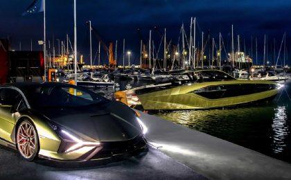 Conor McGregor e il suo nuovo yacht Lamborghini da 3,6 milioni di dollari