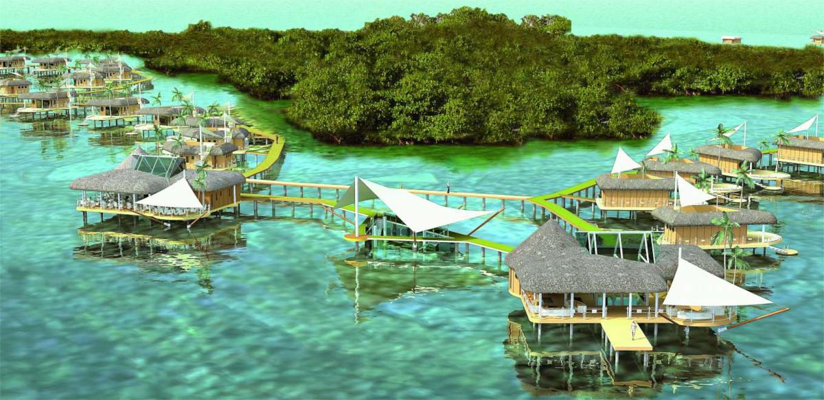 blue dolphin island
