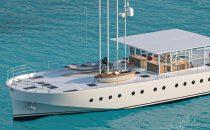 Zattera 24m: dal genio di Renzo Piano e Olav Selvaag lo yacht ecologico a energia solare